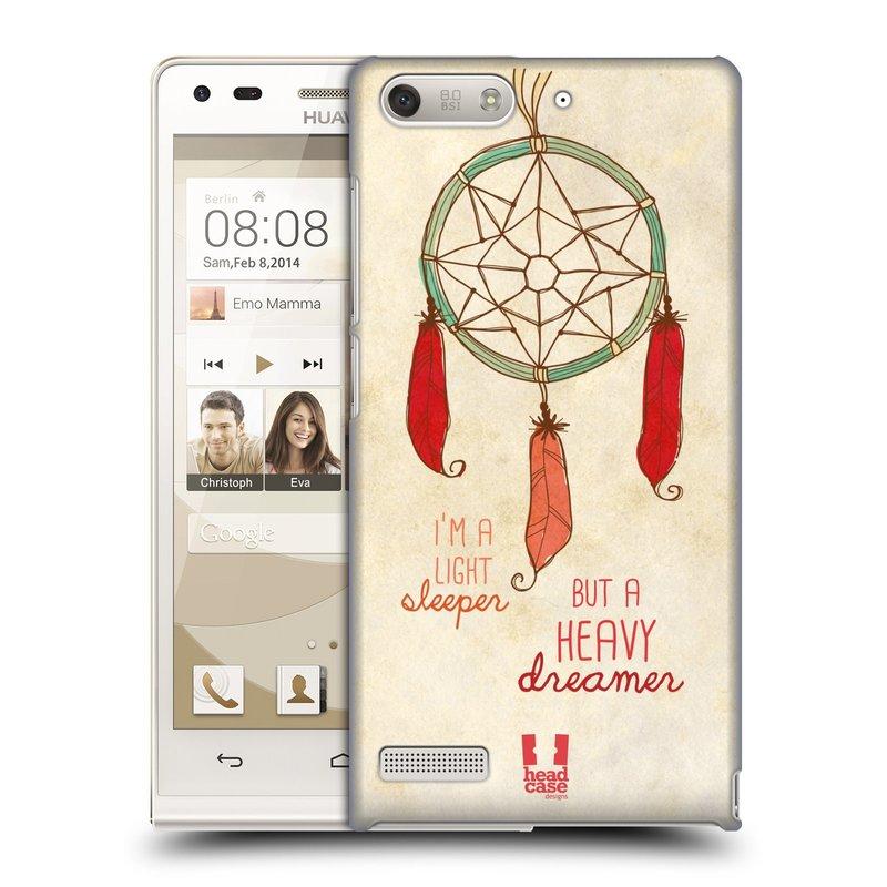 Plastové pouzdro na mobil Huawei Ascend G6 HEAD CASE LAPAČ HEAVY DREAMER (Kryt či obal na mobilní telefon Huawei Ascend G6 bez LTE)