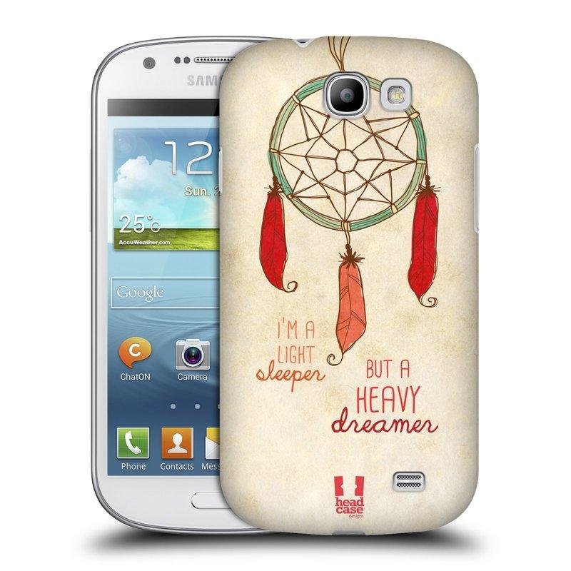 Plastové pouzdro na mobil Samsung Galaxy Express HEAD CASE LAPAČ HEAVY DREAMER (Kryt či obal na mobilní telefon Samsung Galaxy Express GT-i8730)