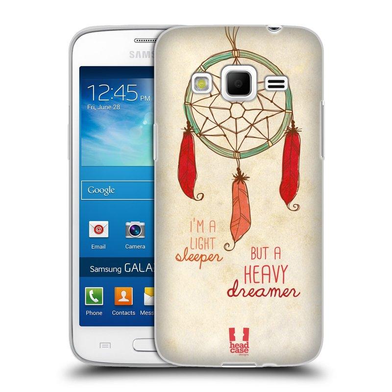 Silikonové pouzdro na mobil Samsung Galaxy Express 2 HEAD CASE LAPAČ HEAVY DREAMER (Silikonový kryt či obal na mobilní telefon Samsung Galaxy Express 2 SM-G3815)
