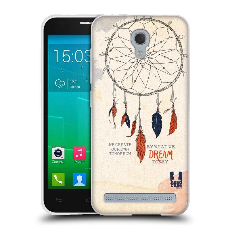 Silikonové pouzdro na mobil Alcatel One Touch Idol 2 Mini S 6036Y HEAD CASE LAPAČ TODAY (Silikonový kryt či obal na mobilní telefon Alcatel Idol 2 Mini S OT-6036Y)