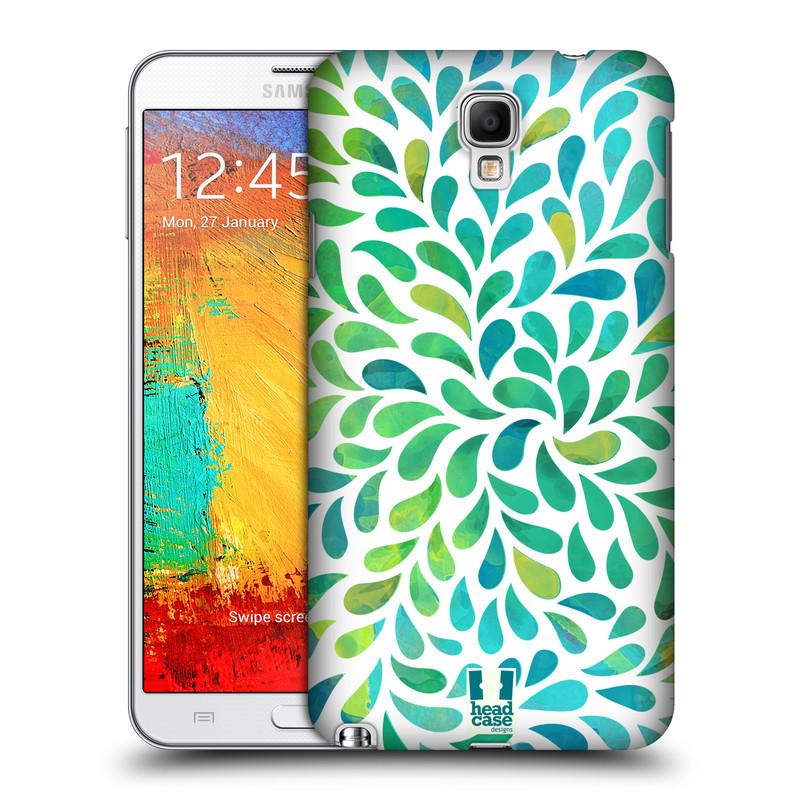 Plastové pouzdro na mobil Samsung Galaxy Note 3 Neo HEAD CASE Droplet Wave Kapičky (Kryt či obal na mobilní telefon Samsung Galaxy Note 3 Neo SM-N7505)