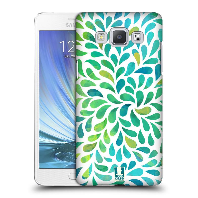 Plastové pouzdro na mobil Samsung Galaxy A5 HEAD CASE Droplet Wave Kapičky (Kryt či obal na mobilní telefon Samsung Galaxy A5 SM-A500)