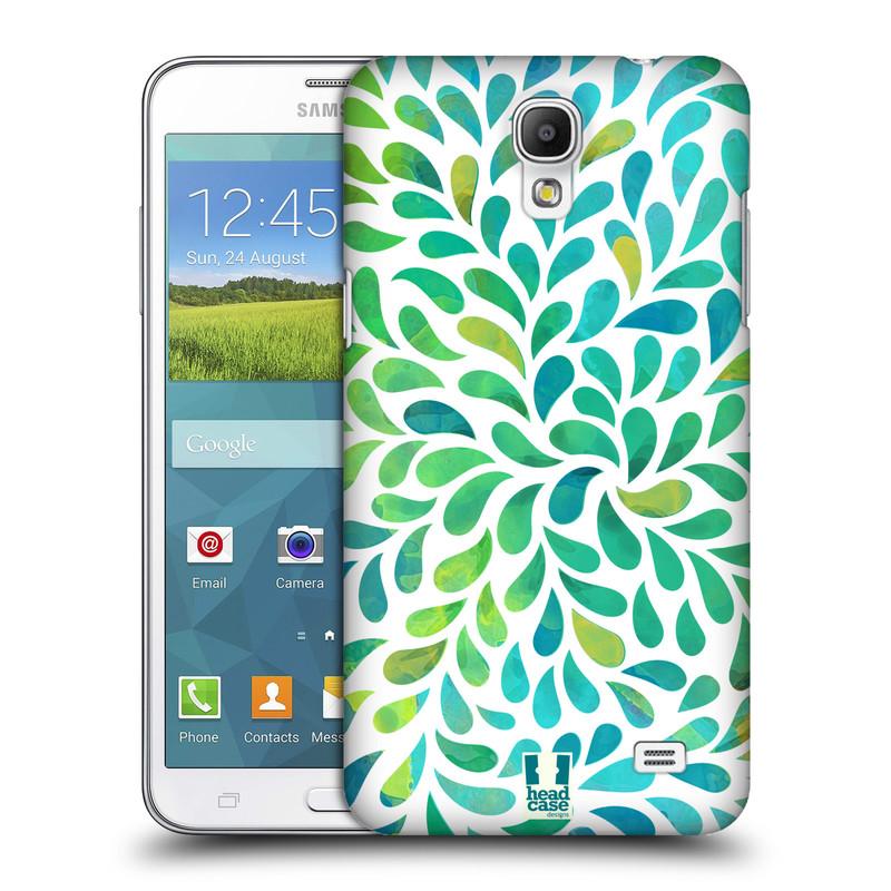 Plastové pouzdro na mobil Samsung Galaxy Grand Mega 2 HEAD CASE Droplet Wave Kapičky (Kryt či obal na mobilní telefon Samsung Galaxy Grand Mega 2 SM-G750)