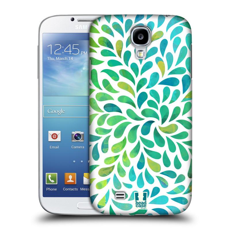 Plastové pouzdro na mobil Samsung Galaxy S4 HEAD CASE Droplet Wave Kapičky (Kryt či obal na mobilní telefon Samsung Galaxy S4 GT-i9505 / i9500)
