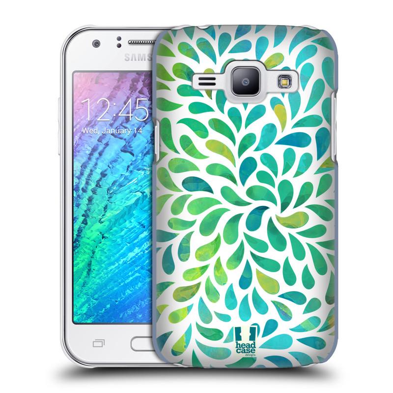 Plastové pouzdro na mobil Samsung Galaxy J1 HEAD CASE Droplet Wave Kapičky (Kryt či obal na mobilní telefon Samsung Galaxy J1 a J1 Duos )