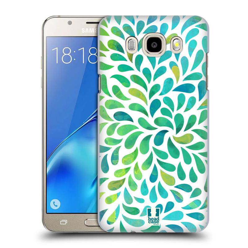 Plastové pouzdro na mobil Samsung Galaxy J5 (2016) HEAD CASE Droplet Wave Kapičky (Plastový kryt či obal na mobilní telefon Samsung Galaxy J5 (2016) SM-J510)