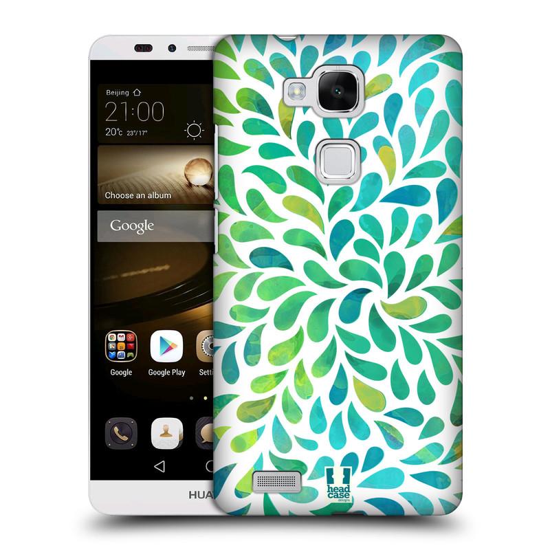 Plastové pouzdro na mobil Huawei Ascend Mate 7 HEAD CASE Droplet Wave Kapičky (Kryt či obal na mobilní telefon Huawei Ascend Mate7)
