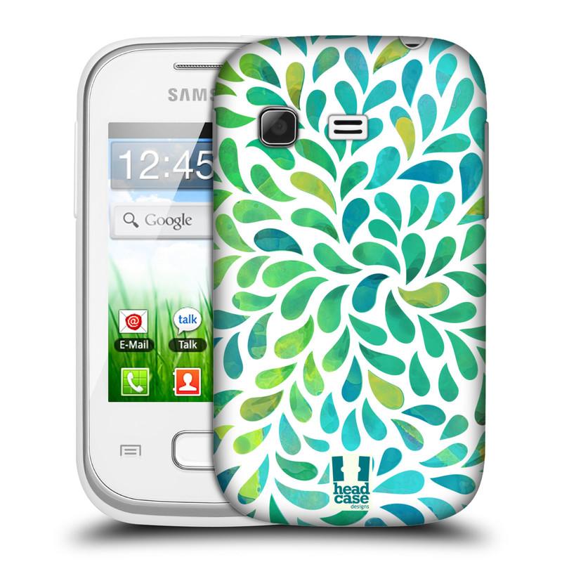 Plastové pouzdro na mobil Samsung Galaxy Pocket HEAD CASE Droplet Wave Kapičky (Kryt či obal na mobilní telefon Samsung Galaxy Pocket GT-S5300)