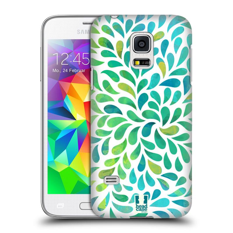 Plastové pouzdro na mobil Samsung Galaxy S5 Mini HEAD CASE Droplet Wave Kapičky (Kryt či obal na mobilní telefon Samsung Galaxy S5 Mini SM-G800F)