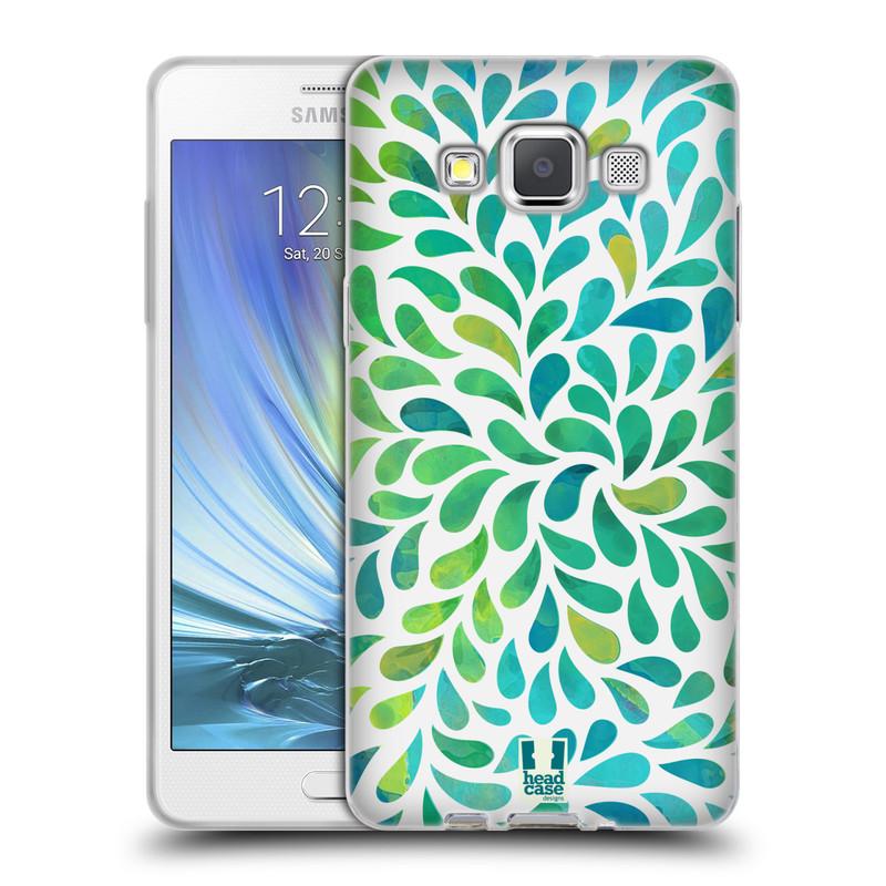 Silikonové pouzdro na mobil Samsung Galaxy A5 HEAD CASE Droplet Wave Kapičky (Silikonový kryt či obal na mobilní telefon Samsung Galaxy A5 SM-A500)