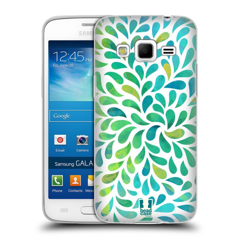 Silikonové pouzdro na mobil Samsung Galaxy Express 2 HEAD CASE Droplet Wave Kapičky (Silikonový kryt či obal na mobilní telefon Samsung Galaxy Express 2 SM-G3815)