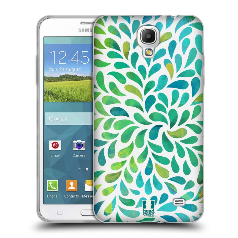 Silikonové pouzdro na mobil Samsung Galaxy Grand Mega 2 HEAD CASE Droplet Wave Kapičky (Silikonový kryt či obal na mobilní telefon Samsung Galaxy Grand Mega 2 SM-G750)