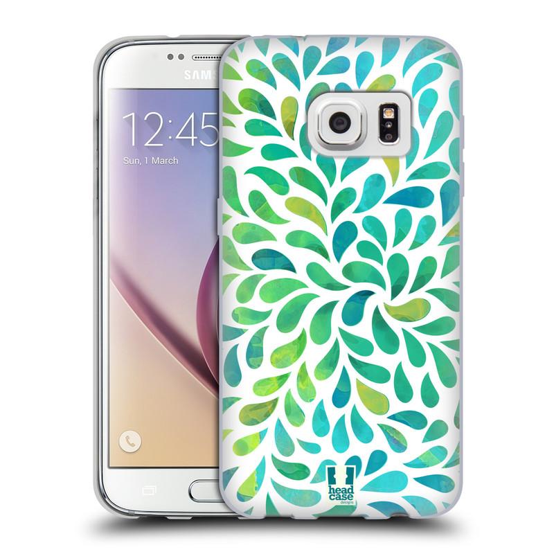 Silikonové pouzdro na mobil Samsung Galaxy S7 HEAD CASE Droplet Wave Kapičky (Silikonový kryt či obal na mobilní telefon Samsung Galaxy S7 SM-G930F)
