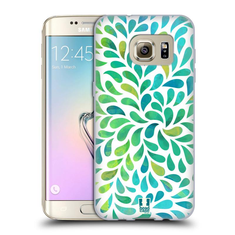 Silikonové pouzdro na mobil Samsung Galaxy S7 Edge HEAD CASE Droplet Wave Kapičky (Silikonový kryt či obal na mobilní telefon Samsung Galaxy S7 Edge SM-G935F)