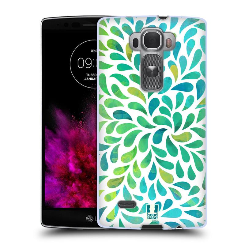 Silikonové pouzdro na mobil LG G Flex 2 HEAD CASE Droplet Wave Kapičky (Silikonový kryt či obal na mobilní telefon LG G Flex 2 H955)