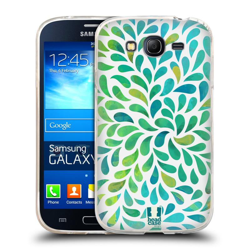 Silikonové pouzdro na mobil Samsung Galaxy Grand Neo HEAD CASE Droplet Wave Kapičky (Silikonový kryt či obal na mobilní telefon Samsung Galaxy Grand Neo GT-I9060)