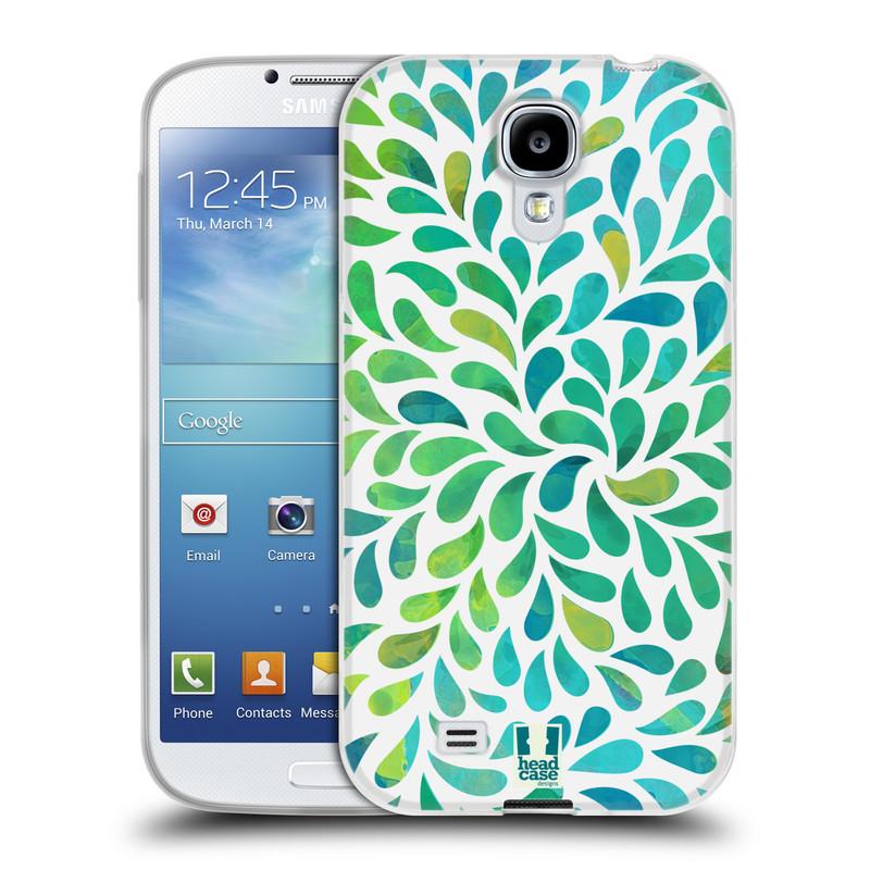 Silikonové pouzdro na mobil Samsung Galaxy S4 HEAD CASE Droplet Wave Kapičky (Silikonový kryt či obal na mobilní telefon Samsung Galaxy S4 GT-i9505 / i9500)