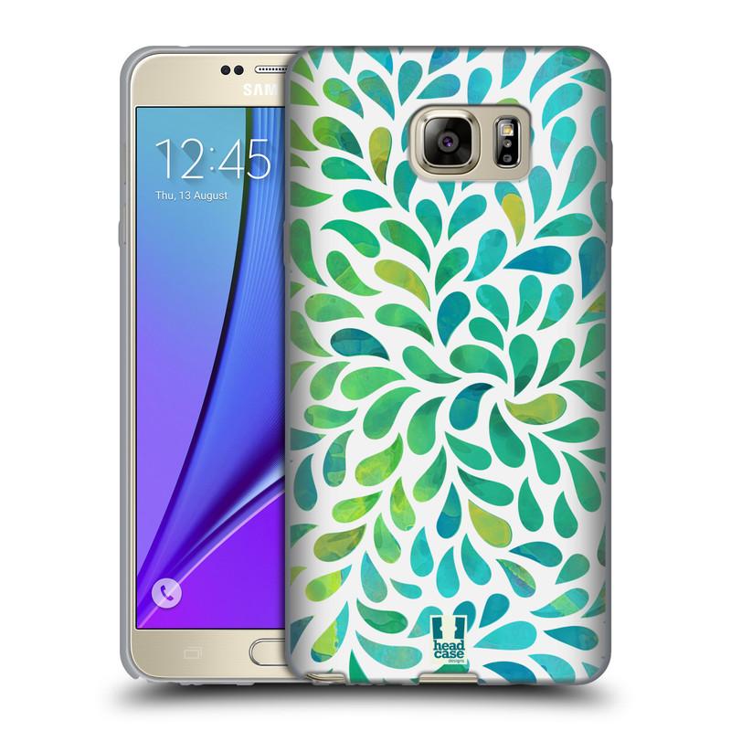 Silikonové pouzdro na mobil Samsung Galaxy Note 5 HEAD CASE Droplet Wave Kapičky (Silikonový kryt či obal na mobilní telefon Samsung Galaxy Note 5 SM-N920)