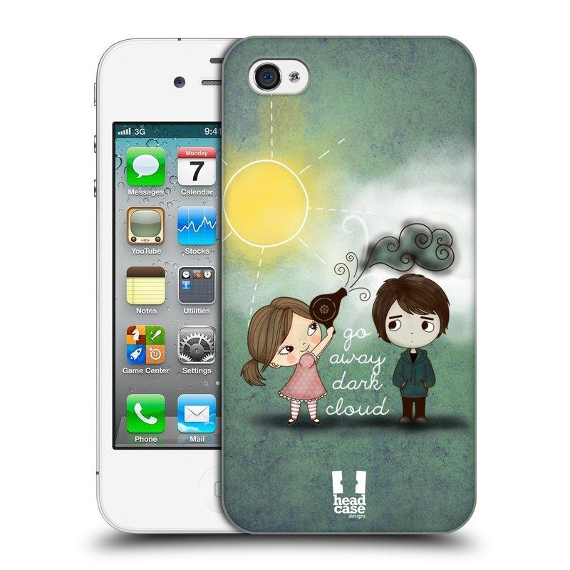 Plastové pouzdro na mobil Apple iPhone 4 a 4S HEAD CASE Emo Love na Sluníčku (Kryt či obal na mobilní telefon Apple iPhone 4 a 4S)