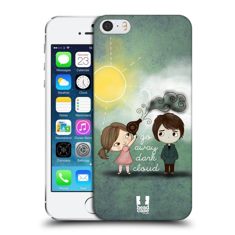 Plastové pouzdro na mobil Apple iPhone SE, 5 a 5S HEAD CASE Emo Love na Sluníčku (Kryt či obal na mobilní telefon Apple iPhone SE, 5 a 5S)