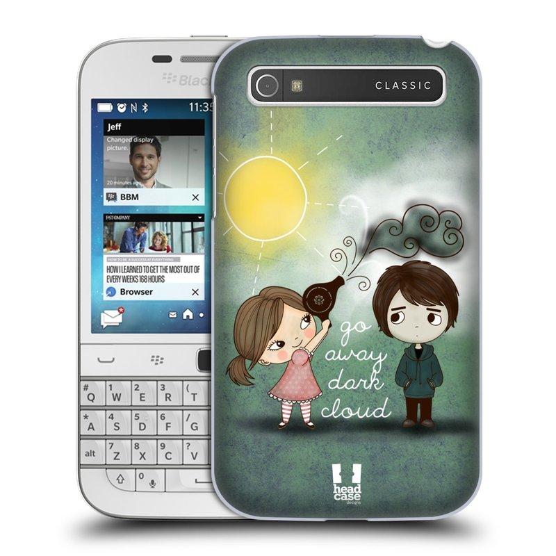 Plastové pouzdro na mobil Blackberry Classic HEAD CASE Emo Love na Sluníčku (Kryt či obal na mobilní telefon Blackberry Classic)