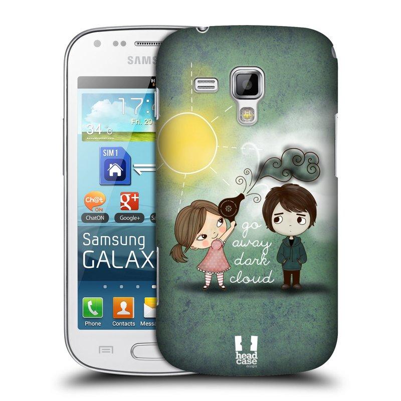 Plastové pouzdro na mobil Samsung Galaxy Trend Plus HEAD CASE Emo Love na Sluníčku (Kryt či obal na mobilní telefon Samsung Galaxy Trend Plus GT-S7580)