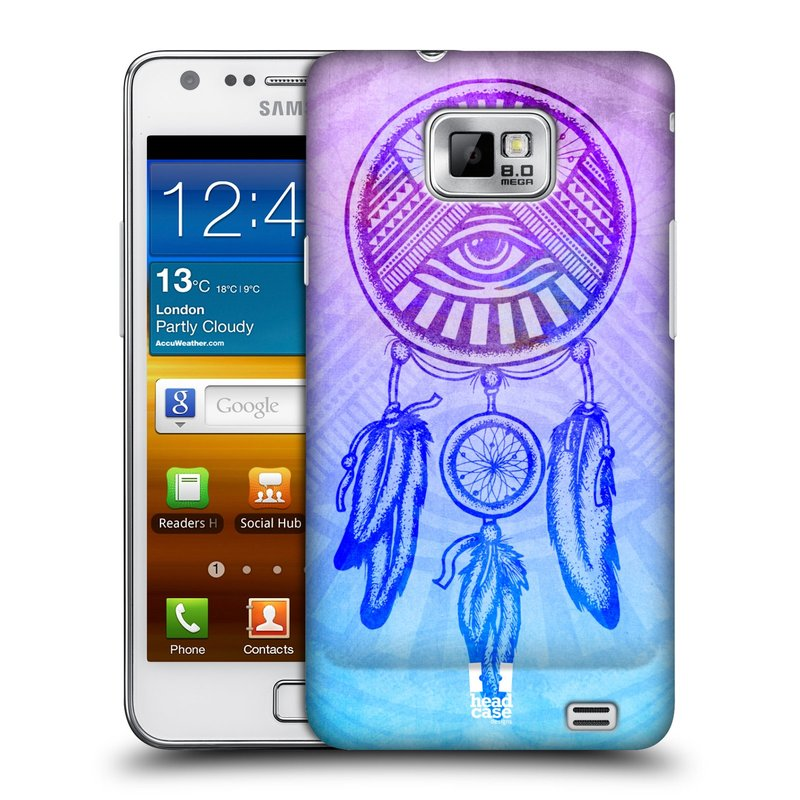 Plastové pouzdro na mobil Samsung Galaxy S II HEAD CASE Lapač s okem (Kryt či obal na mobilní telefon Samsung Galaxy S II GT-i9100)
