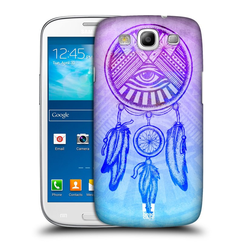 Plastové pouzdro na mobil Samsung Galaxy S3 Neo HEAD CASE Lapač s okem (Kryt či obal na mobilní telefon Samsung Galaxy S3 Neo GT-i9301i)