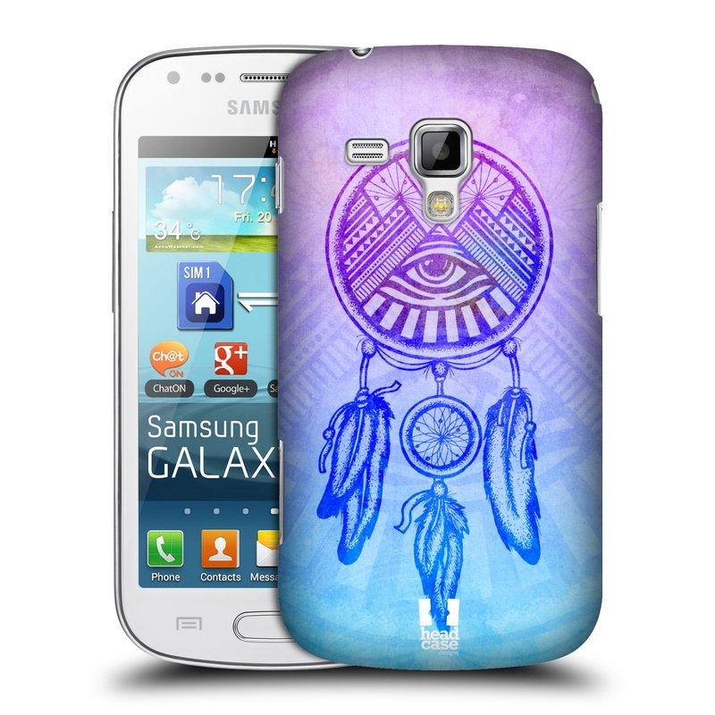 Plastové pouzdro na mobil Samsung Galaxy S Duos HEAD CASE Lapač s okem (Kryt či obal na mobilní telefon Samsung Galaxy S Duos GT-S7562)