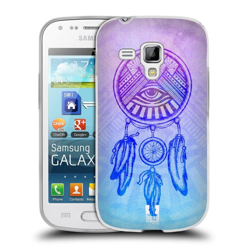 Silikonové pouzdro na mobil Samsung Galaxy S Duos HEAD CASE Lapač s okem (Silikonový kryt či obal na mobilní telefon Samsung Galaxy S Duos GT-S7562)