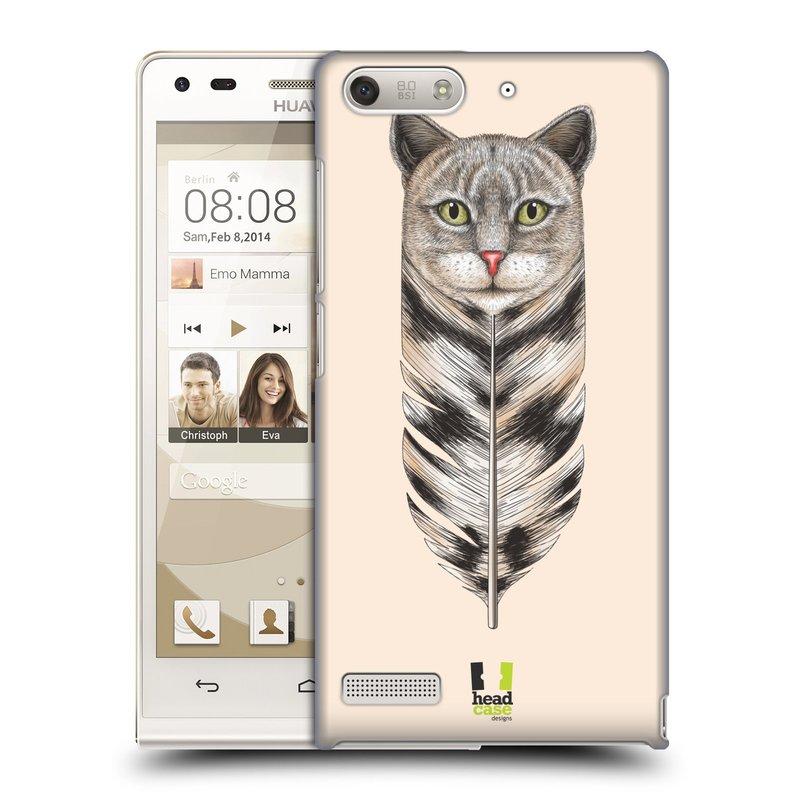 Plastové pouzdro na mobil Huawei Ascend G6 HEAD CASE PÍRKO KOČKA (Kryt či obal na mobilní telefon Huawei Ascend G6 bez LTE)
