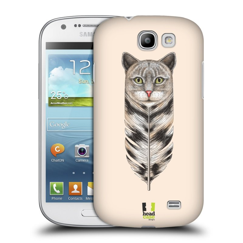 Plastové pouzdro na mobil Samsung Galaxy Express HEAD CASE PÍRKO KOČKA (Kryt či obal na mobilní telefon Samsung Galaxy Express GT-i8730)