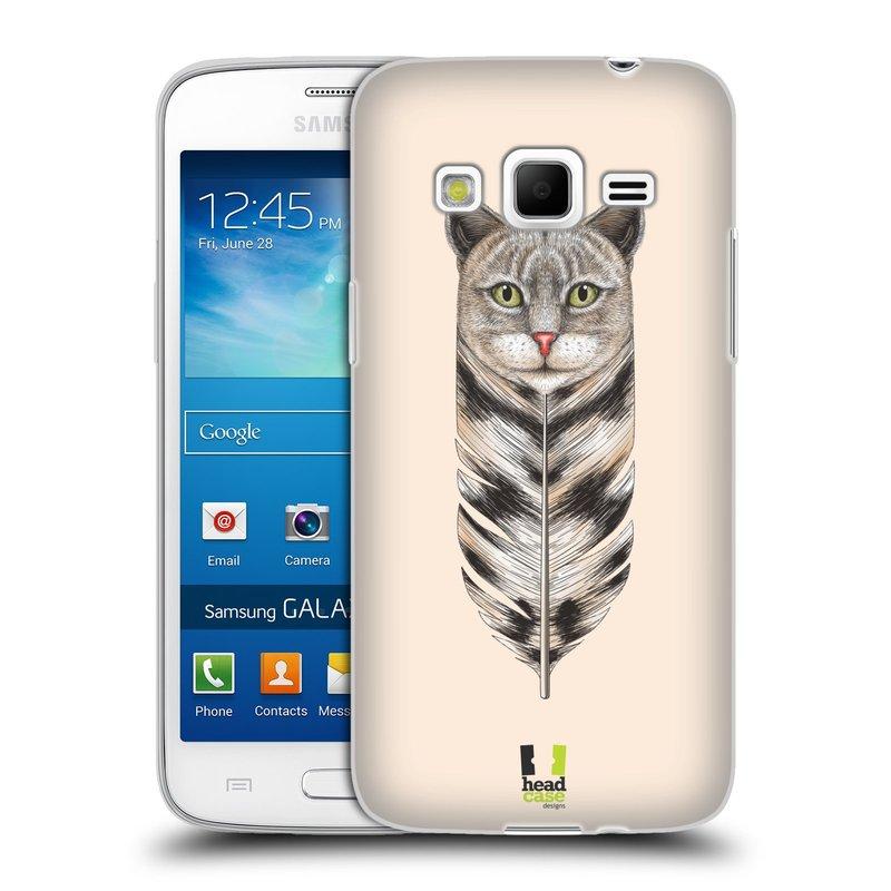 Silikonové pouzdro na mobil Samsung Galaxy Express 2 HEAD CASE PÍRKO KOČKA (Silikonový kryt či obal na mobilní telefon Samsung Galaxy Express 2 SM-G3815)