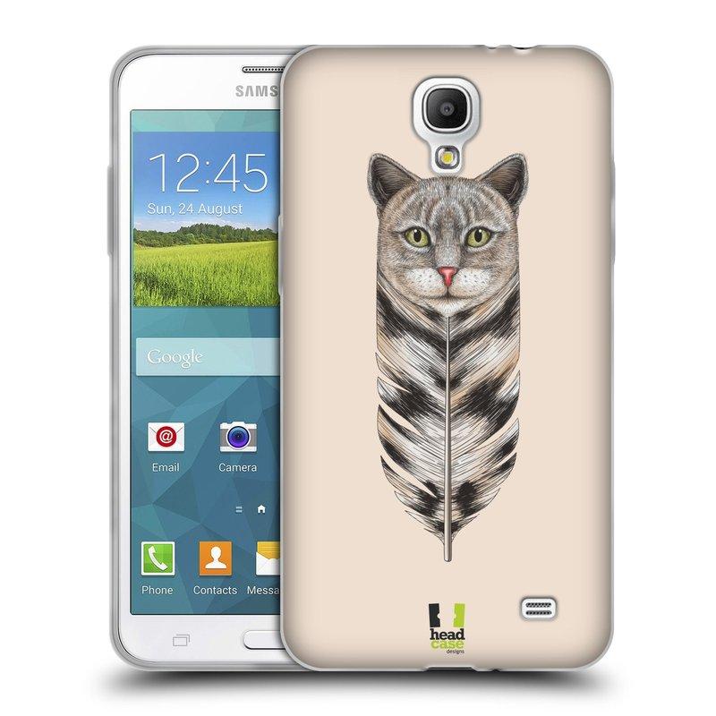 Silikonové pouzdro na mobil Samsung Galaxy Grand Mega 2 HEAD CASE PÍRKO KOČKA (Silikonový kryt či obal na mobilní telefon Samsung Galaxy Grand Mega 2 SM-G750)