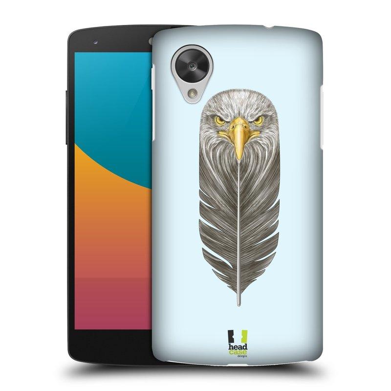 Plastové pouzdro na mobil LG Nexus 5 HEAD CASE PÍRKO OREL (Kryt či obal na mobilní telefon LG Google Nexus 5 D821)