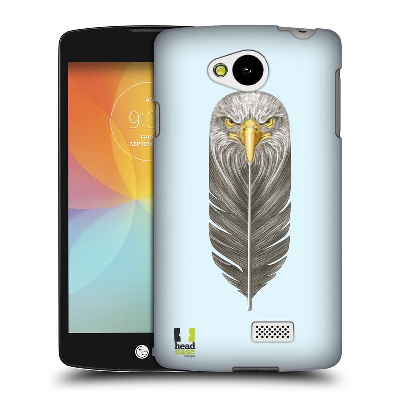 Plastové pouzdro na mobil LG F60 HEAD CASE PÍRKO OREL (Kryt či obal na mobilní telefon LG F60 D390n)