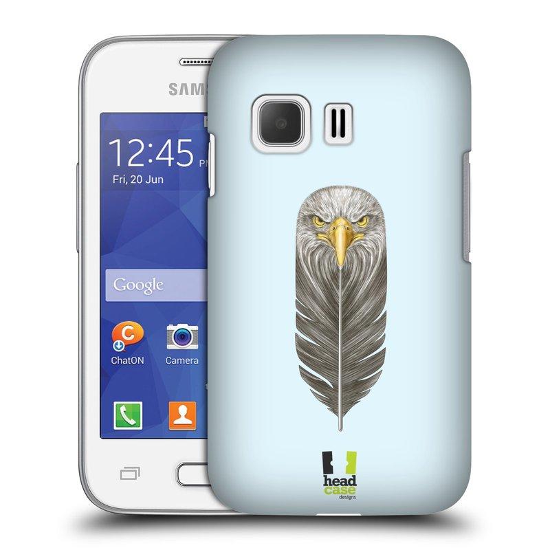 Plastové pouzdro na mobil Samsung Galaxy Young 2 HEAD CASE PÍRKO OREL (Kryt či obal na mobilní telefon Samsung Galaxy Young 2 SM-G130)