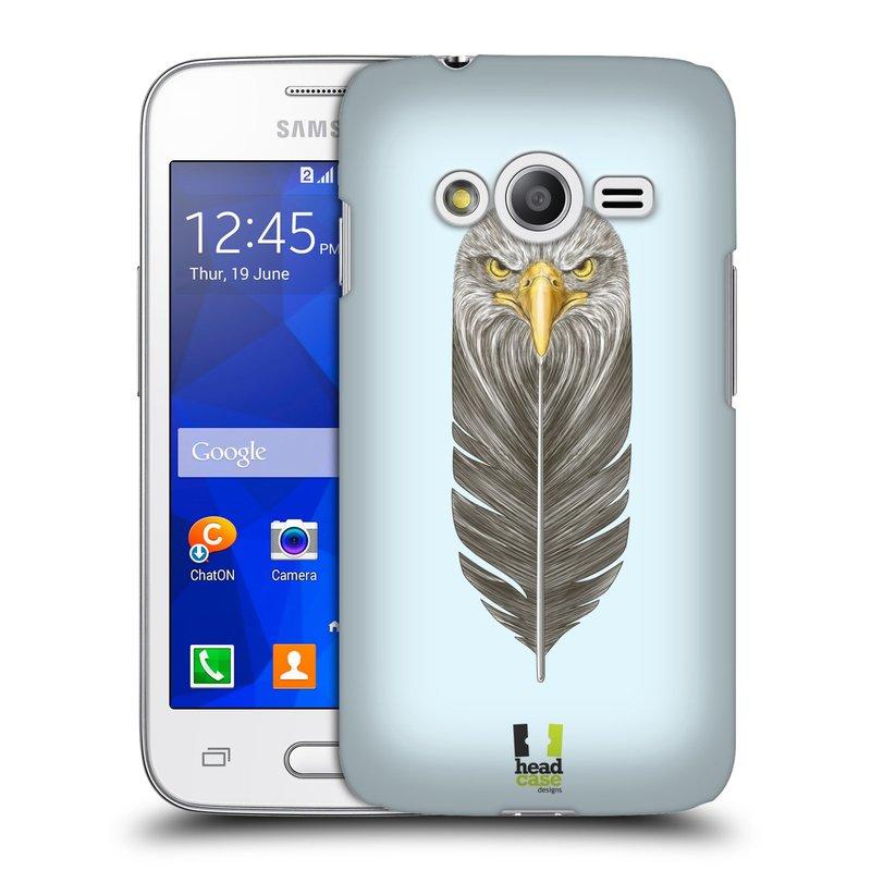 Plastové pouzdro na mobil Samsung Galaxy Trend 2 Lite HEAD CASE PÍRKO OREL (Kryt či obal na mobilní telefon Samsung Galaxy Trend 2 Lite SM-G318)