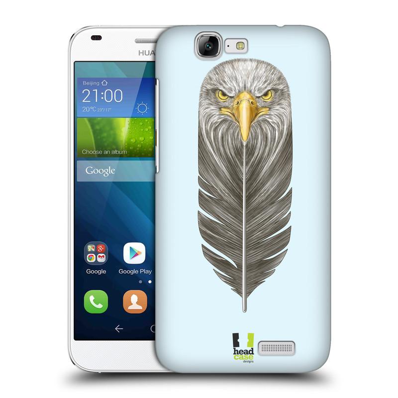 Plastové pouzdro na mobil Huawei Ascend G7 HEAD CASE PÍRKO OREL (Kryt či obal na mobilní telefon Huawei Ascend G7)