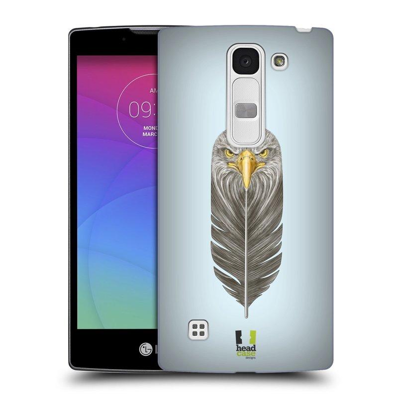 Plastové pouzdro na mobil LG Spirit LTE HEAD CASE PÍRKO OREL (Kryt či obal na mobilní telefon LG Spirit H420 a LG Spirit LTE H440N)