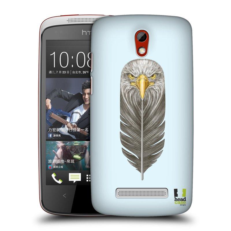 Plastové pouzdro na mobil HTC Desire 500 HEAD CASE PÍRKO OREL (Kryt či obal na mobilní telefon HTC Desire 500)