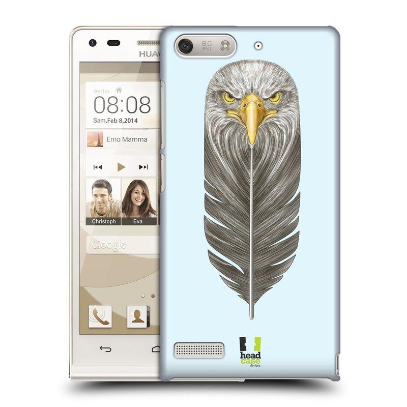 Plastové pouzdro na mobil Huawei Ascend G6 HEAD CASE PÍRKO OREL (Kryt či obal na mobilní telefon Huawei Ascend G6 bez LTE)