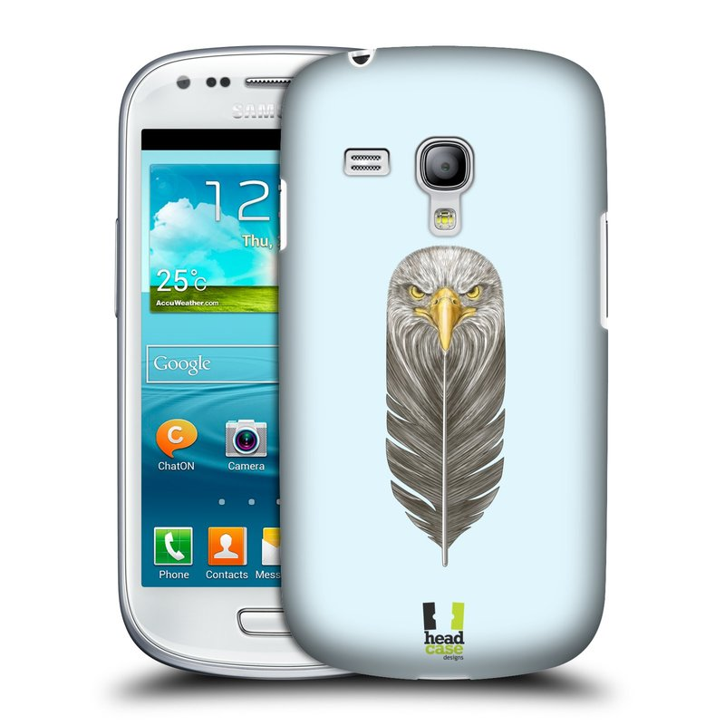 Plastové pouzdro na mobil Samsung Galaxy S III Mini HEAD CASE PÍRKO OREL (Kryt či obal na mobilní telefon Samsung Galaxy S III Mini GT-i8190)