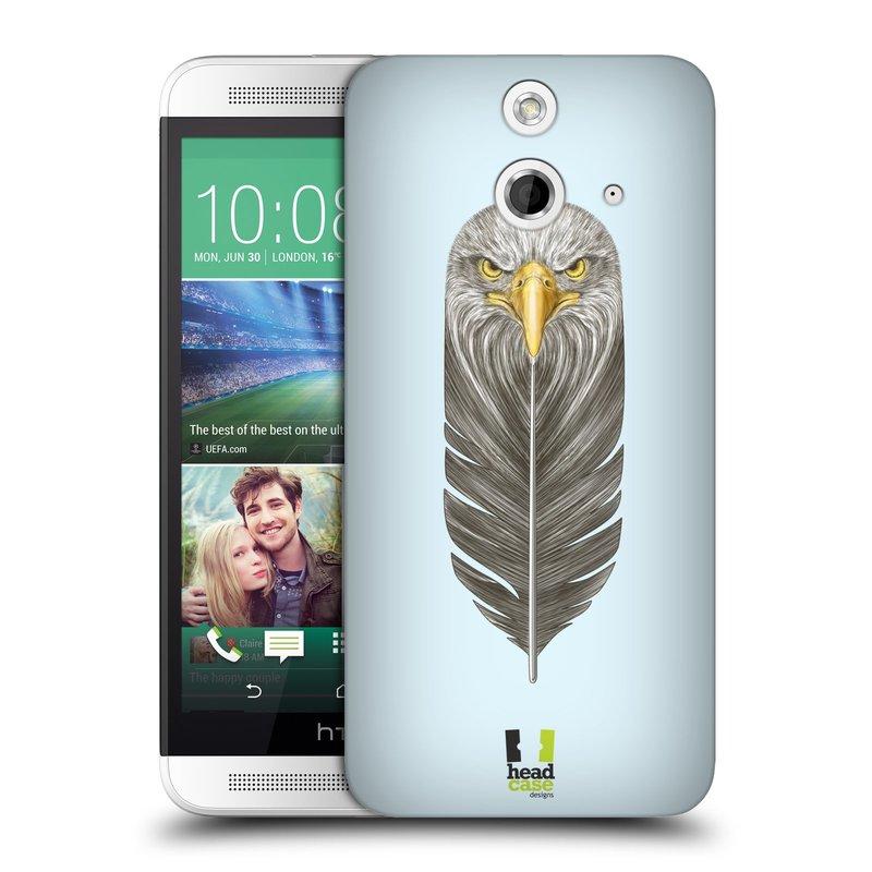 Plastové pouzdro na mobil HTC ONE E8 HEAD CASE PÍRKO OREL (Kryt či obal na mobilní telefon HTC ONE E8)