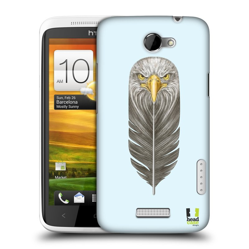 Plastové pouzdro na mobil HTC ONE X HEAD CASE PÍRKO OREL (Kryt či obal na mobilní telefon HTC ONE X)