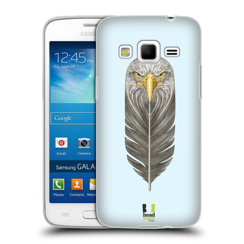 Silikonové pouzdro na mobil Samsung Galaxy Express 2 HEAD CASE PÍRKO OREL (Silikonový kryt či obal na mobilní telefon Samsung Galaxy Express 2 SM-G3815)