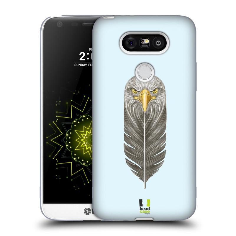 Silikonové pouzdro na mobil LG G5 HEAD CASE PÍRKO OREL (Silikonový kryt či obal na mobilní telefon LG G5 H850)