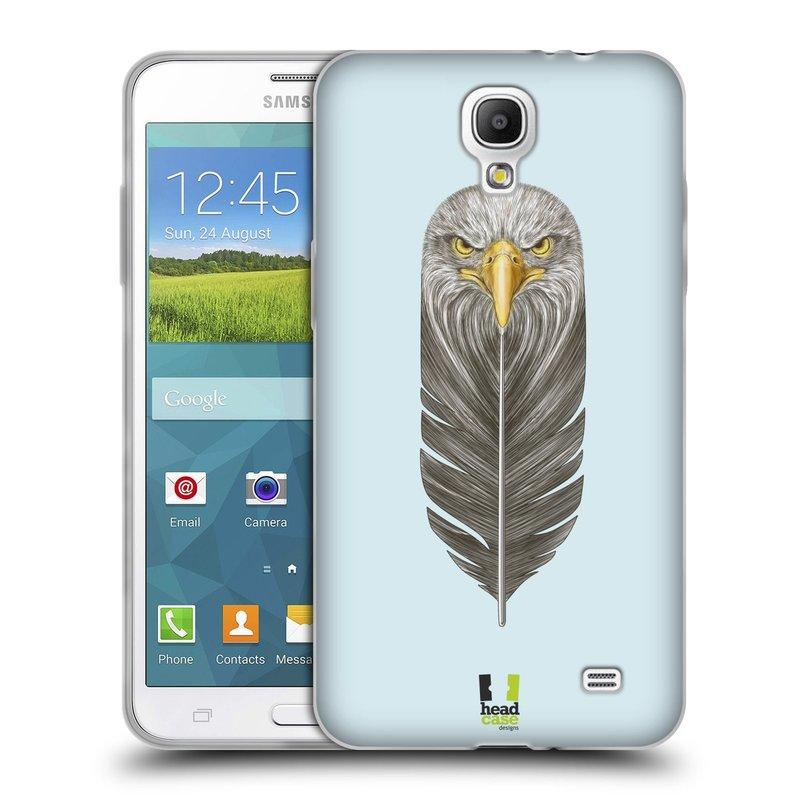 Silikonové pouzdro na mobil Samsung Galaxy Grand Mega 2 HEAD CASE PÍRKO OREL (Silikonový kryt či obal na mobilní telefon Samsung Galaxy Grand Mega 2 SM-G750)
