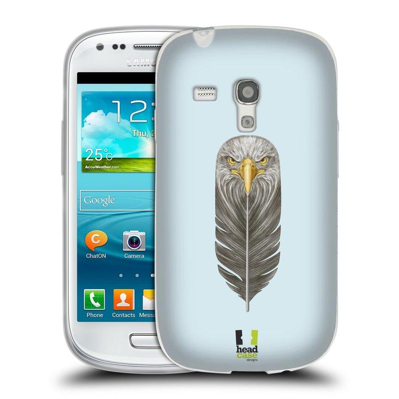 Silikonové pouzdro na mobil Samsung Galaxy S III Mini HEAD CASE PÍRKO OREL (Silikonový kryt či obal na mobilní telefon Samsung Galaxy S III Mini GT-i8190)