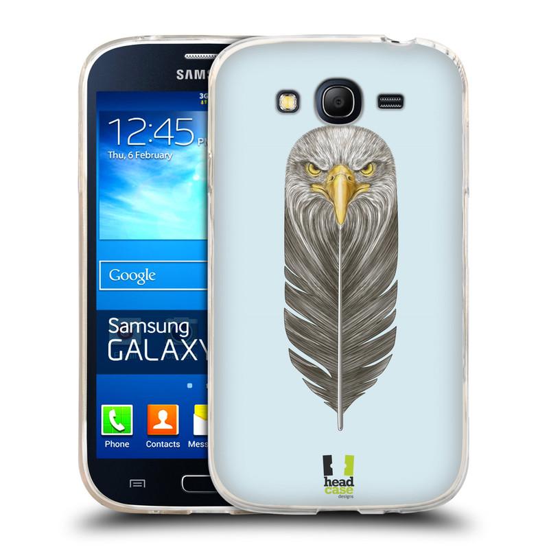 Silikonové pouzdro na mobil Samsung Galaxy Grand Neo HEAD CASE PÍRKO OREL (Silikonový kryt či obal na mobilní telefon Samsung Galaxy Grand Neo GT-I9060)